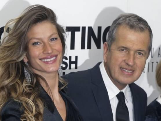 Mario Testino mit Gisèle Bündchen