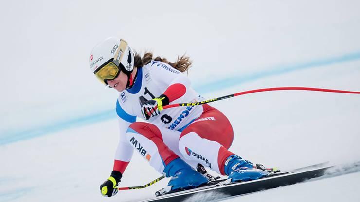 Fabienne Suter mit guter Trainingsleistung in Garmisch-Partenkirchen