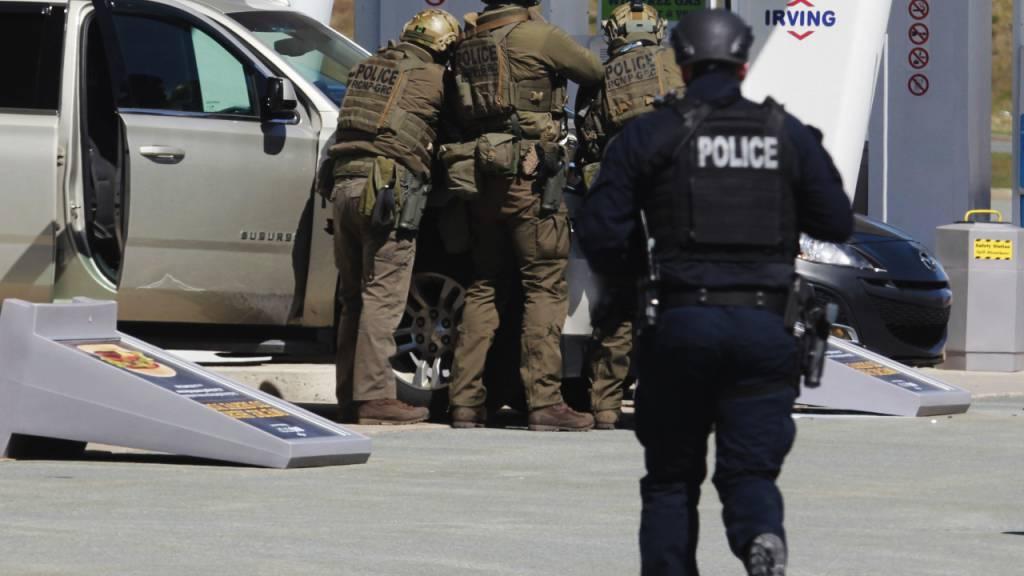 Blutbad in Kanada - Mindestens 17 Tote in Nova Scotia