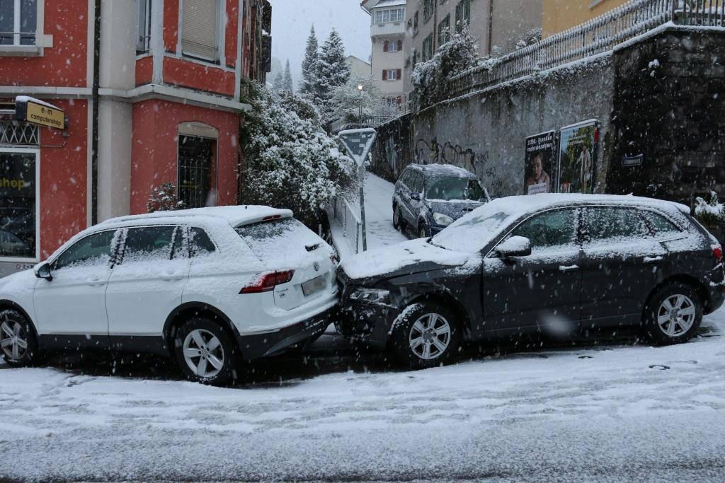 Unfälle Teufener Strasse