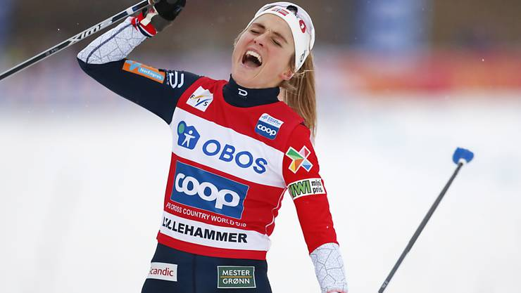 Im Moment unschlagbar: Therese Johaug