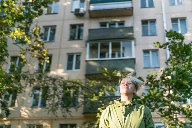 Tanjas Block wird in zwei bis drei Jahren abgerissen. Sie träumt von einem Leben in Europa.