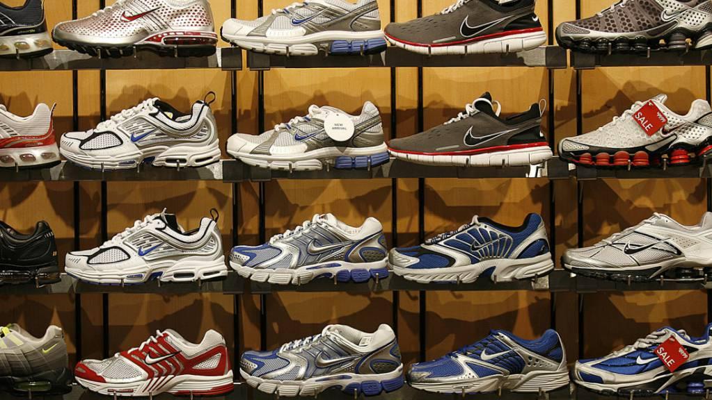 Als Folge des Handelskrieges zwischen China und den USA wird der Preis für Laufschuhe aus China in den USA deutlich steigen. 70 Prozent der in den USA verkauften Schuhe stammen aus China. (Symbolbild)