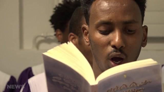 Eritreischer Chor singt für Ostern