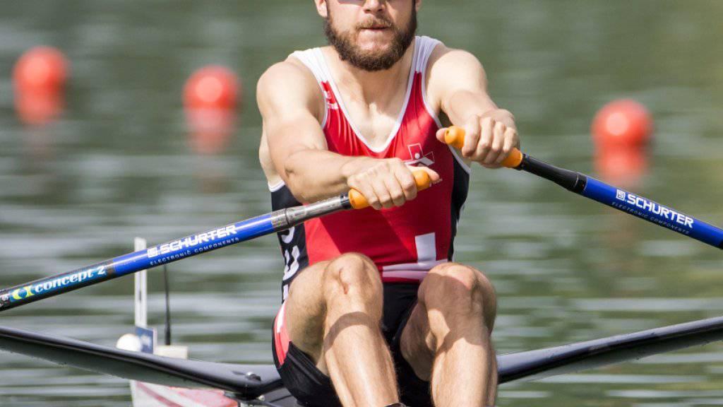 Michael Schmid ist an den Weltmeisterschaften in Sarasota auf Kurs