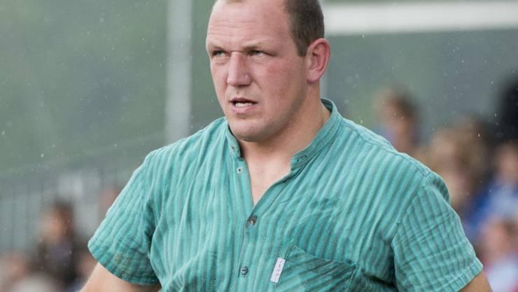 Der dreifache Eidgenosse Bruno Gisler.