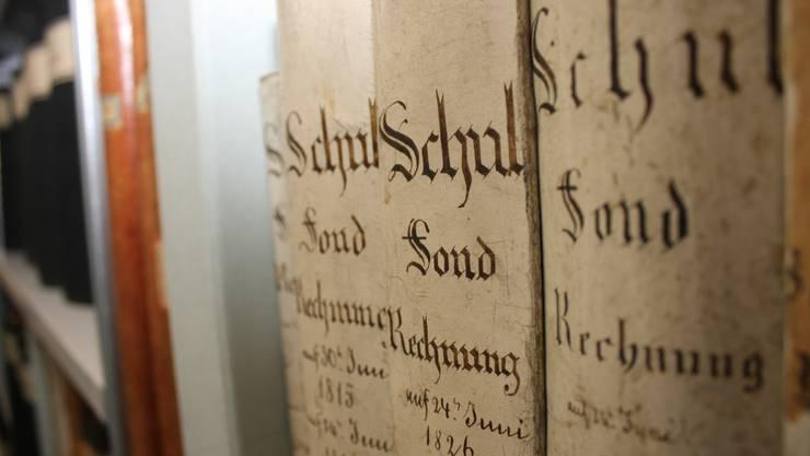 Das Archiv der Stadt Solothurn wird digitalisiert.