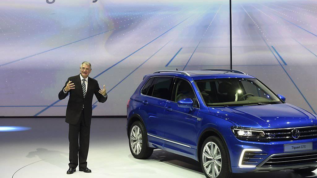 Kein Kommentar: Welche Rolle spielte Ex-VW-Entwicklungschef Ulrich Hackenberg im Abgas-Skandal? (Archivbild)