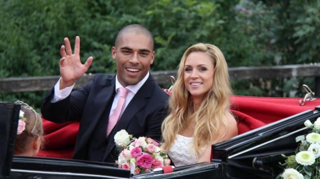 Nach fünf gemeinsamen Jahren nun verheiratet: Jennifer Ann Gerber und Charles Rees. Foto: Beat Zeier