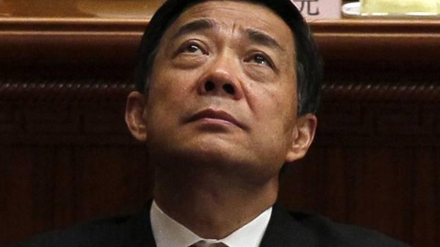 Mit der Berufung gescheitert: Ex-Politstar Bo Xilai (Archiv)