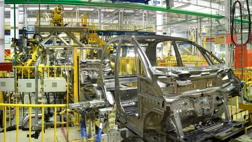Die Apache-Helikopter-Fabrik