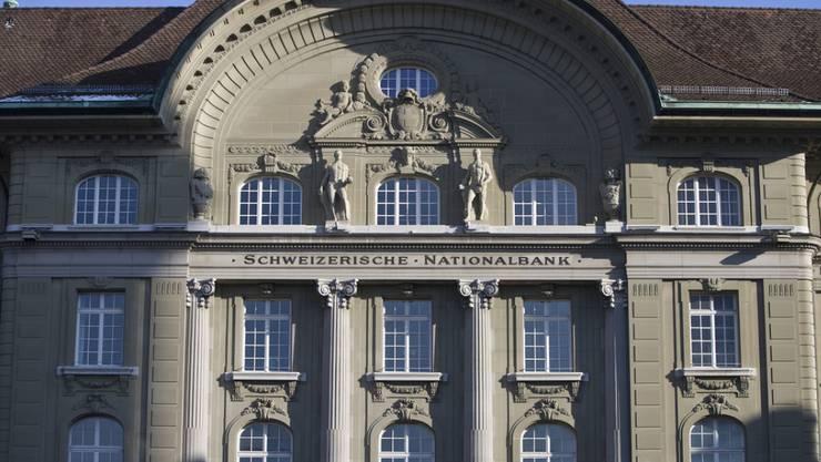 Der Sitz der Schweizerischen Nationalbank in Bern.
