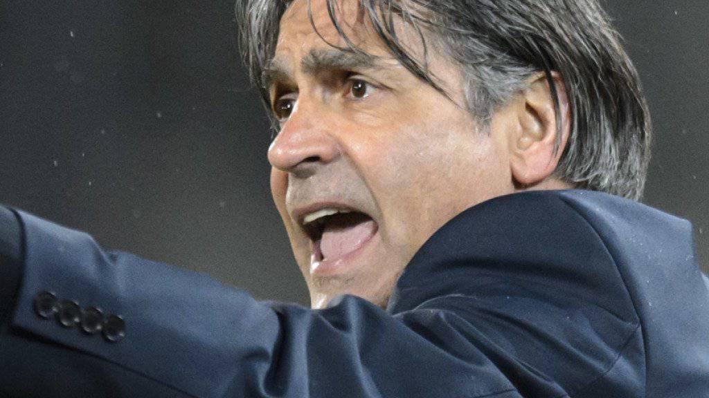 Maurizio Jacobacci war zuletzt beim FC Schaffhausen in der Challenge League tätig