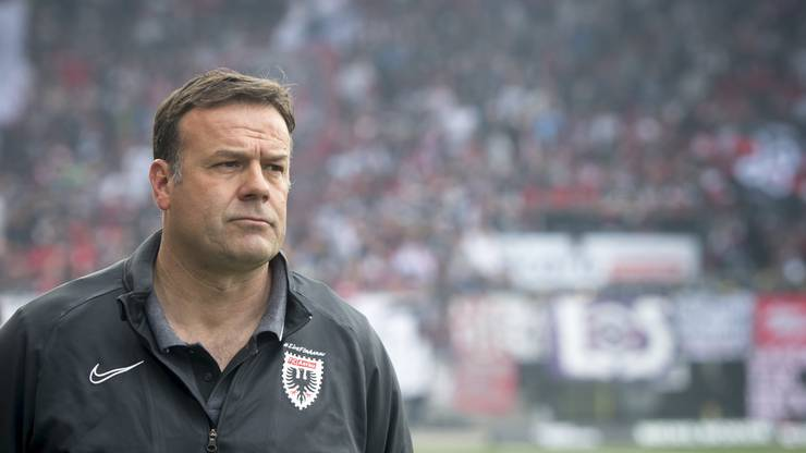 Wechselt Aarau-Coach Patrick Rahmen doch noch zum FC Basel?