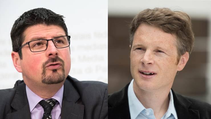 Traten beide als Nationalräte zurück: Yannick Buttet (CVP) und Jonas Fricker (Grüne).