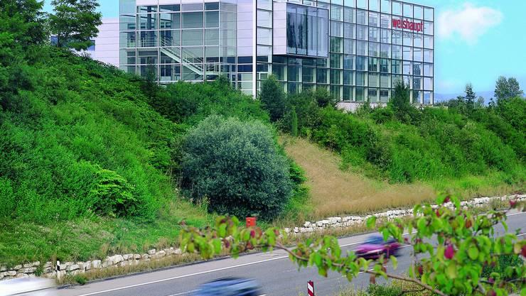 Die aussergewöhnliche Architektur und der Standort an der Autobahn in Geroldswil verhalfen dem Gebäude der Firma Weishaupt, Bekanntheit zu erlangen. (Bild: zvg)