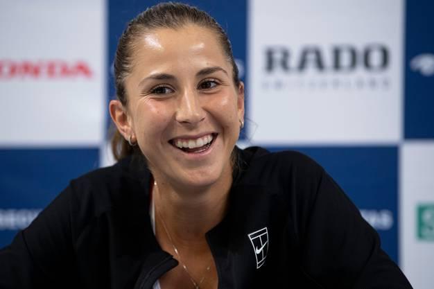 Ob Belinda Bencic bei den US Open antritt, lässt sie noch offen.