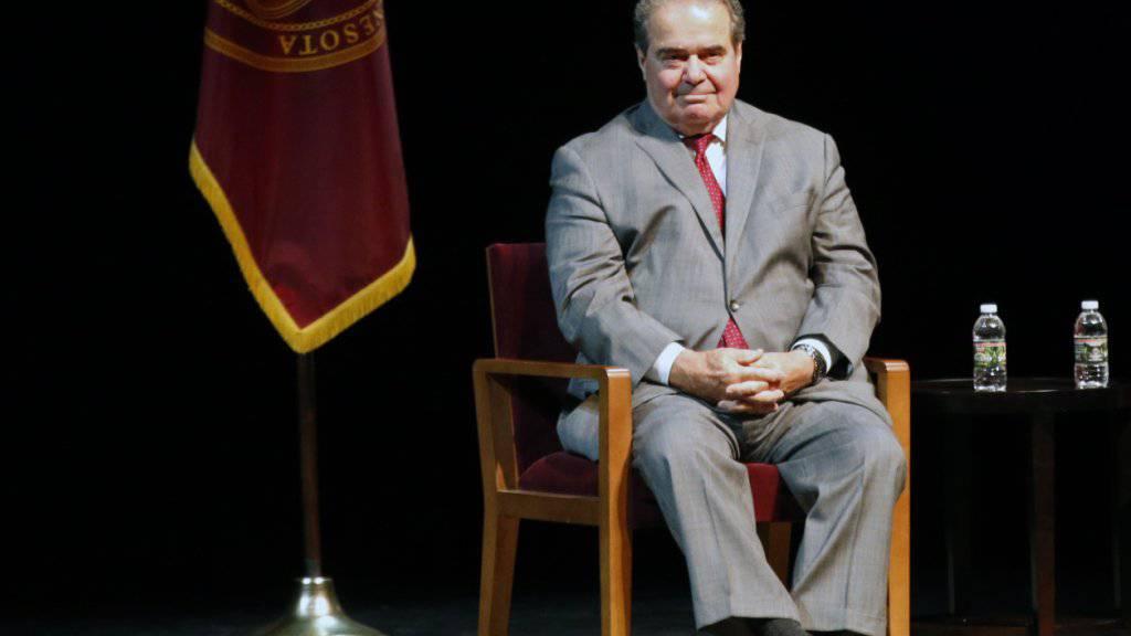 Antonin Scalia ist einer der konservativsten Richter am Supreme Court in Washington.