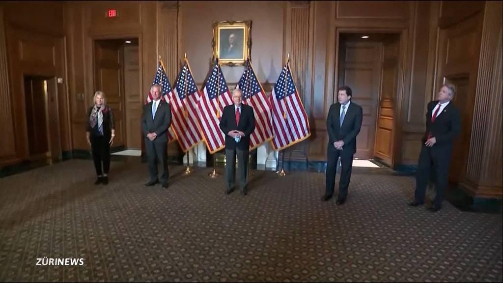 Stimmen sollen neu gezählt werden: Donald Trump erhält Rückenwind aus dem Senat