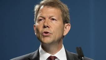 Fritz Zurbrügg von der SNB ist gegen die Goldinititaive (Archiv)