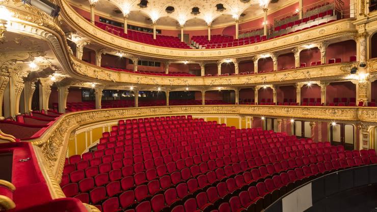 Innenansicht Opernhaus Zürich.