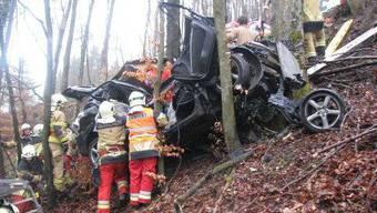 Unfall in Mandach