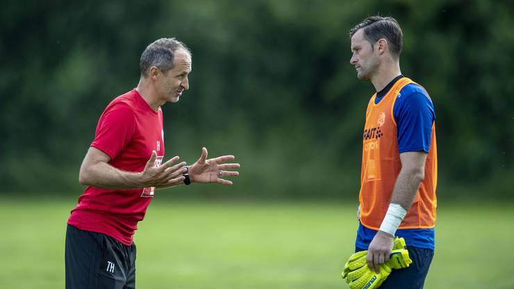Setzt FCL-Trainer Thomas Häberli in der neuen Saison auf Urgestein Zibung?