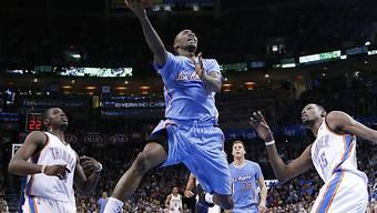Oklahoma zieht im Heimspiel gegen Los Angeles den Kürzeren