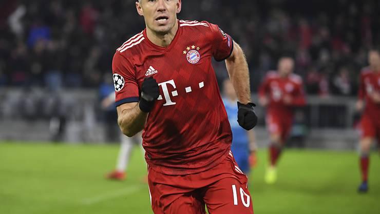 Jetzt ist es offiziell: Arjen Robben bestreitet seine letzten Saison bei Bayern München