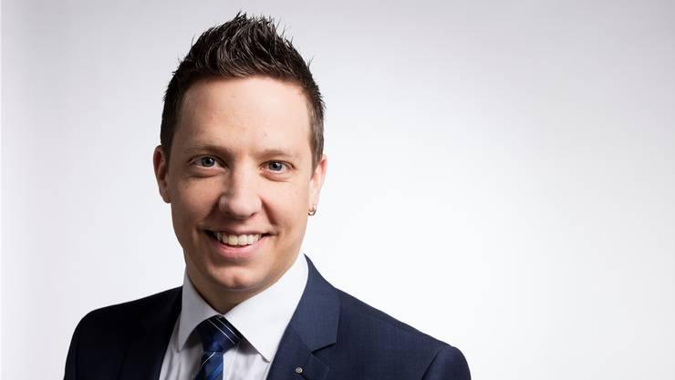 SVP-Kantonalpräsident Christian Imark