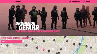 Drohende Gefahr - Cop Map