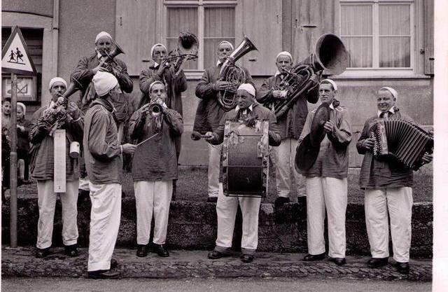 Sie ist die älteste im Kanton Baselland: Die Guggenmusik Güllepumpi aus Frenkendorf wurde 1946 gegründet – zu jener Zeit gab es selbst in Basel und Luzern erst vereinzelte Guggenmusiken.