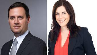Bezirkswahl: Am 18. Oktober wird auch bestimmt, wer ins Gerichtspräsidium gelangt: Natalie Sax oder Daniel Peyer.