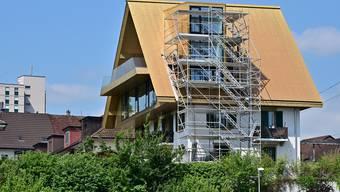 Goldenes Dach Olten - Baubeginn Gebäudeanpassungen 02-07-2019