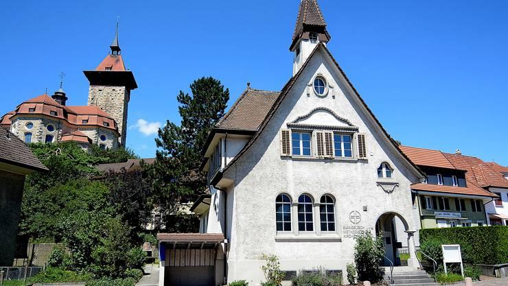 Die ehemalige Kapelle steht vor einer grossen Renovation.