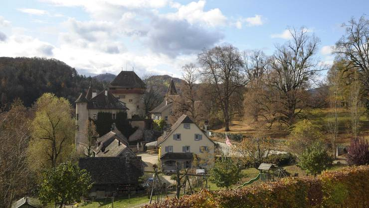 Subventioniert: Auch der Kauf des Schlossguts Wildenstein durch den Kanton wurde vom Fonds Landschaft Schweiz mitfinanziert. (Bild: Martin Toengi)