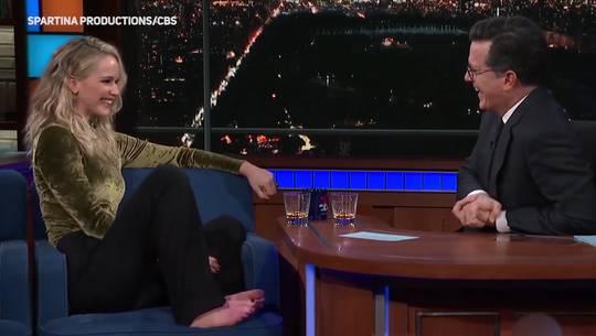 Jennifer Lawrence in TV-Show: «Ich bin betrunken!»