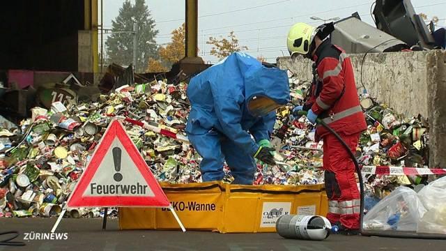Chemieunfall in Dübendorf