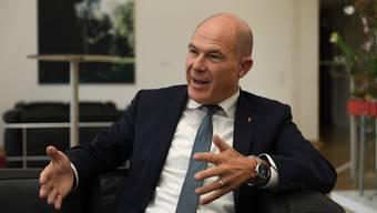 Der Baselbieter Finanzdirektor Anton Lauber (CVP) kontert die Kritik der Wirtschaftskammer,