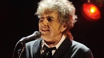 Bob Dylan liess sich auch im Hallenstadion Zürich nicht fotografieren. Das ist ein Bild von 2017. (Archivbild)