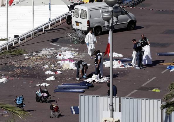 Das Attentat geschah auf der berühmten Promenade des Anglais der Küstenstadt Nizza.