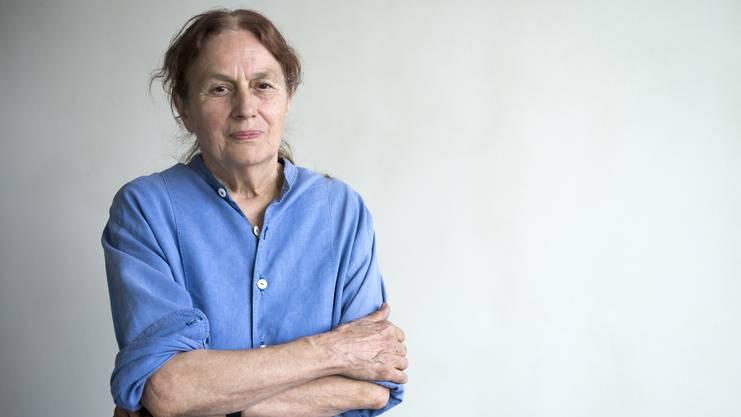 Bettina Eichin, die Erschafferin des Denkmals der Helvetia und der «Menschenrechte».
