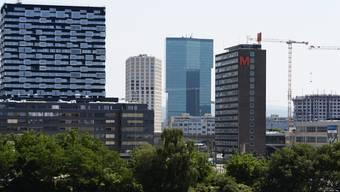 Die Skyline von Zürich West: Noch fehlen dem neu entstehenden Quartier die Bewohner.