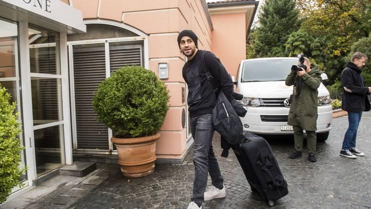 Koffer packen ist für Ricardo Rodriguez auch während der EM angesagt.