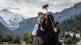 Werden arabische Touristinnen bei einem Burkaverbot das Berner Oberland links liegen lassen?