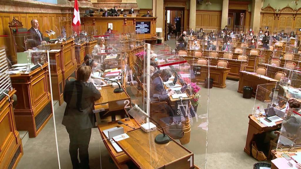 Schnell Lockern: Nationalrat setzt Bundesrat unter Druck