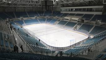 Die Eishockey-Arena in Pyeongchang