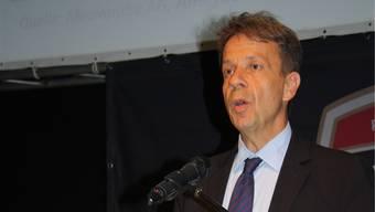 SRG-Generaldirektor Gilles Marchand beschäftigte sich im HESO-Forum nochmals mit der erfolglosen «No-Billag»-Initiative.