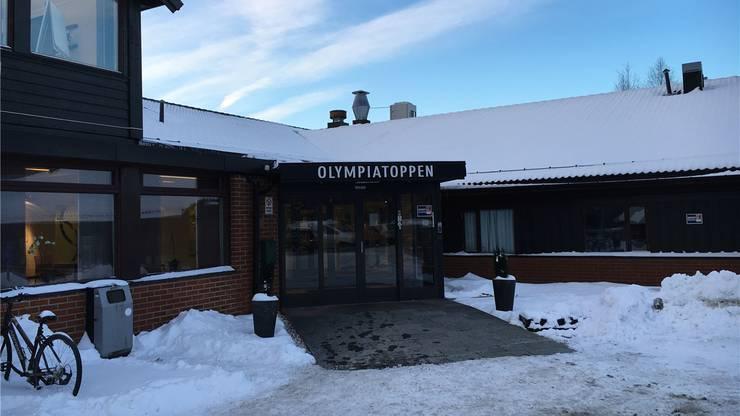 Unscheinbar: Das Hauptquartier des norwegischen Spitzensports in Oslo.