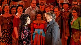 Peter Bernhard, Intendant und Don José in der Oper «Carmen».